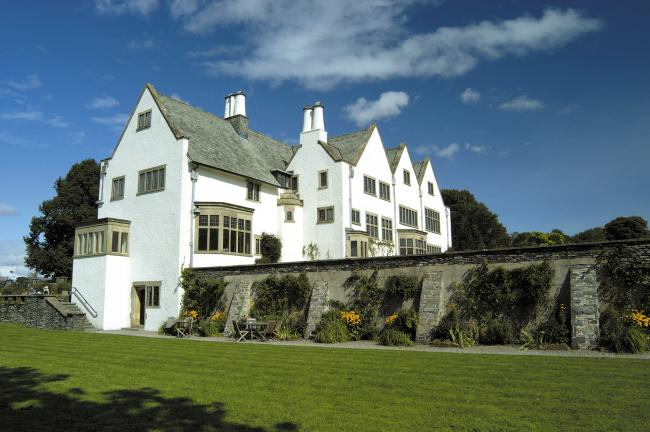SUPPORT: Blackwell – the Arts & Crafts House, at Bowness on Windermere