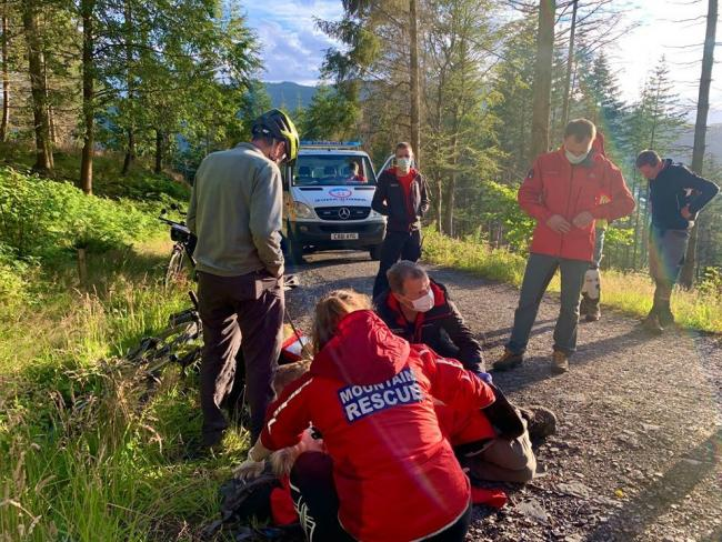 Woman falls and hurts hip on walking trip. Picture: Keswick Mountain Rescue