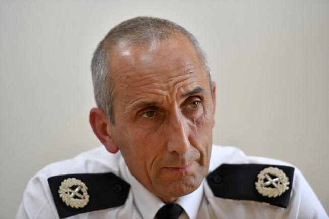Assistant Chief Constable Andy Slattery from Cumbria Police