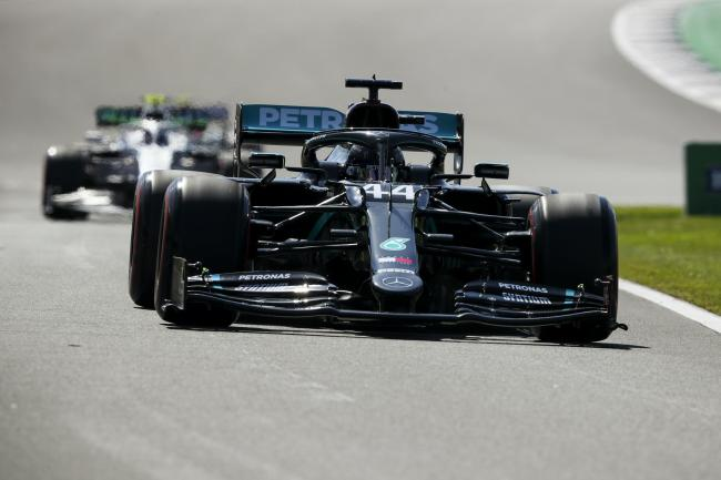 Lewis Hamilton claimed pole position for the British Grand Prix