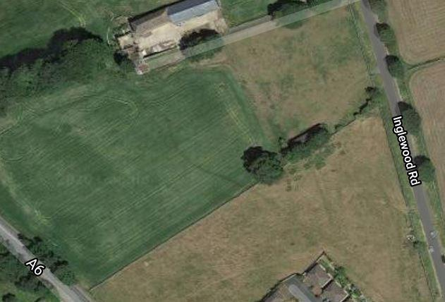 TURNED DOWN: The site of the proposed estate near Penrith which was refused. Picture: Google Streetview