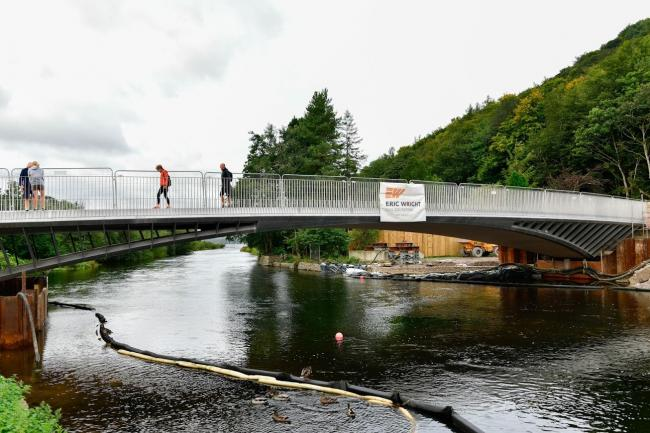 NEW: Bridge opens for pedestrians picture: Cumbria County Council