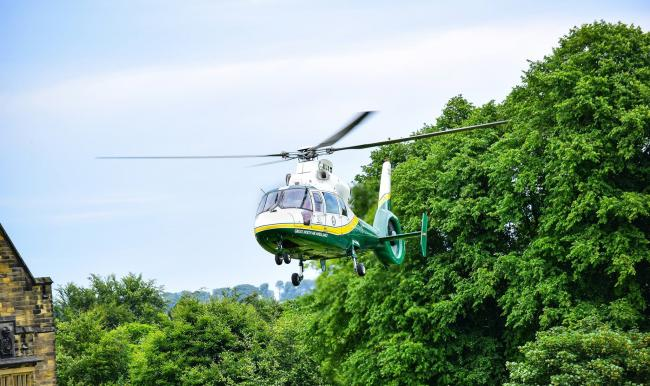 The Great North Air Ambulance (GNAAS) has been the nominated charity partner over the past 12 months