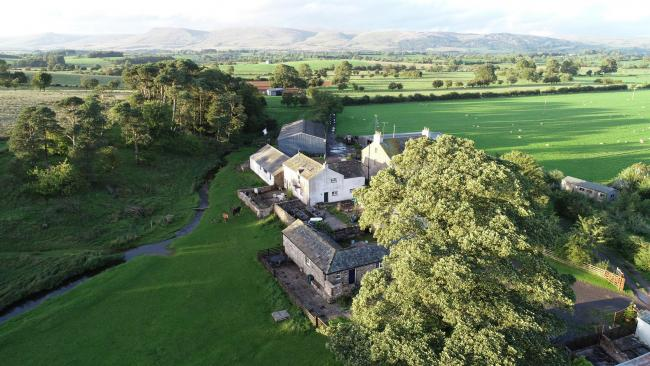 CHANCE:  Sykeside Farm is surrounded by breath-taking countryside, with an enviable location between the North Pennines Area of Outstanding National Beauty and the recently extended Yorkshire Dales National Park.