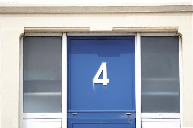 VISIBLE: Ensuring your house number is visible is critical. Image: PIXABAY