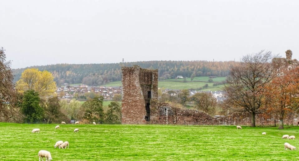 HISTORIC: This calm shot of Brougham Castle Penrith was taken by Cumberland News camera clubs Caroline Herety