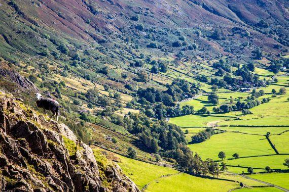 BEAUTY: Langdale in the Lake District
