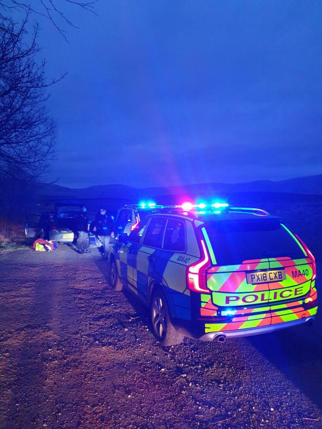 A pursuit took place, credit: Cumbria Roads Police