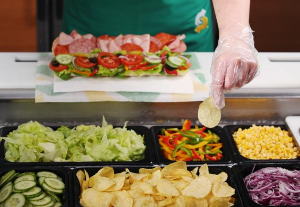 Cumberland & Westmorland Gazette: The sandwich chain has made the change at every UK store. (Subway)
