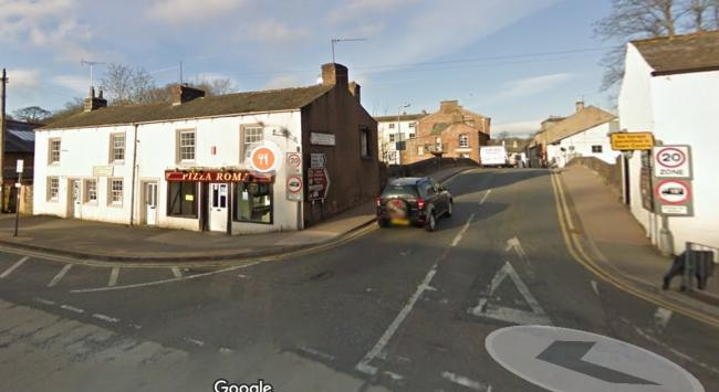 Trial: The schoolgirl was allegedly raped in this area of Appleby